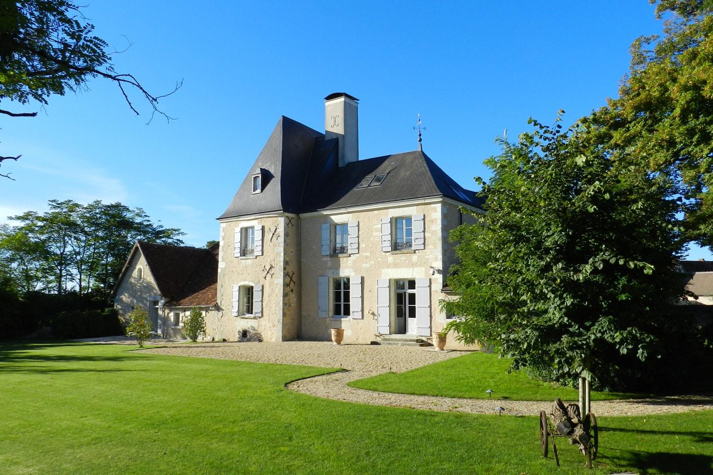 Château d'Allogny façade