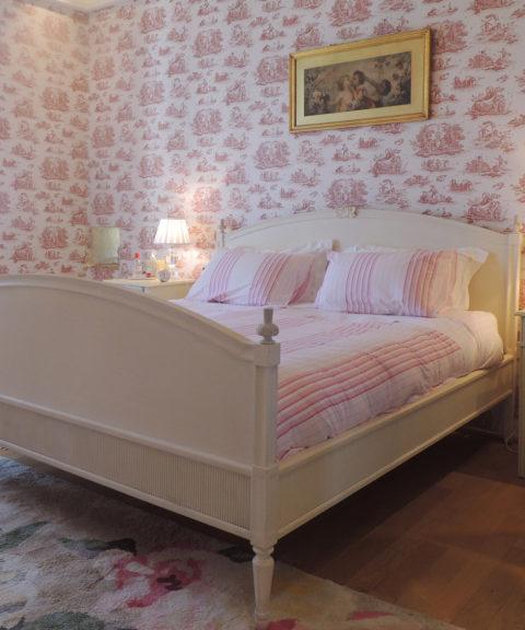 Location - Chambre rose du château d'Allogny