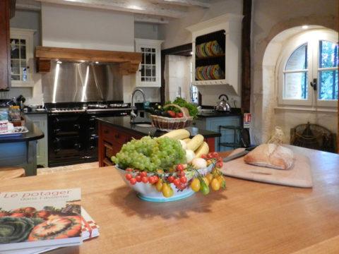 Cuisine du château d'Allogny
