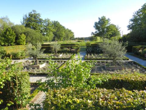 Jardin du domaine d'Allogny