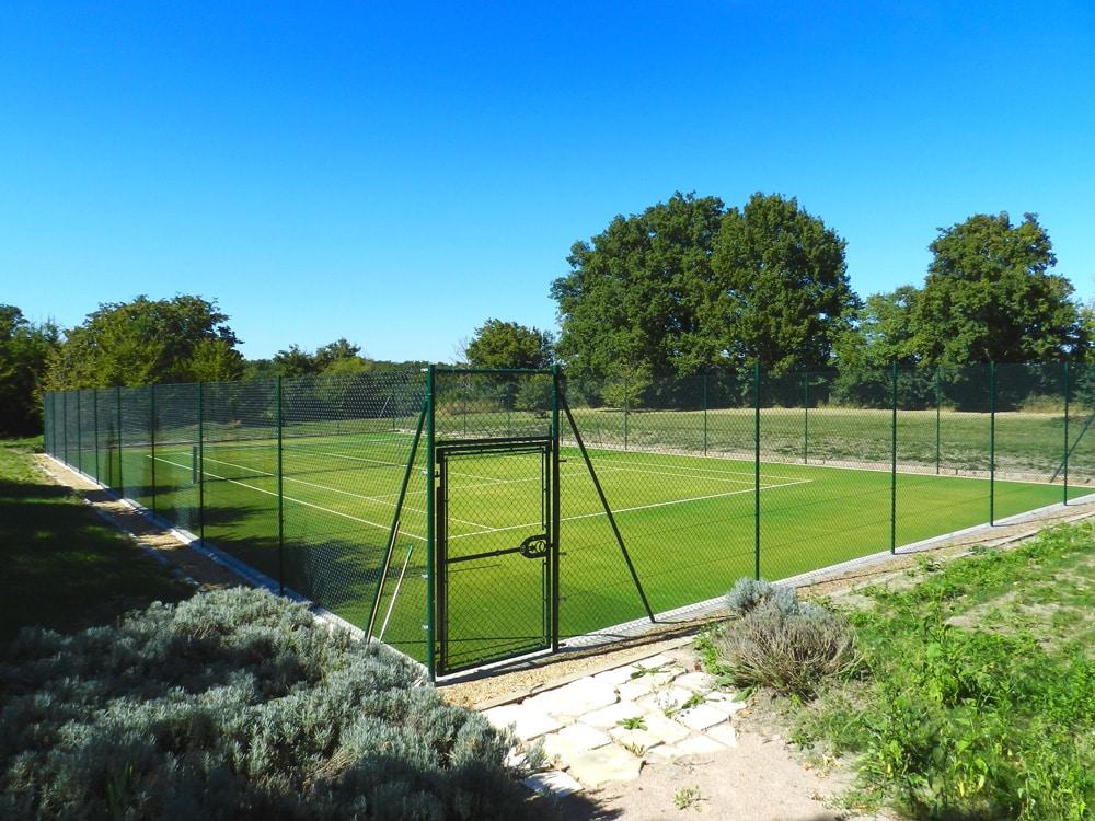 Court de tennis du domaine d'Allogny