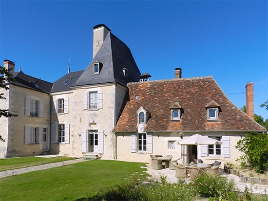 Chateau l'Allogny - demeure de prestige