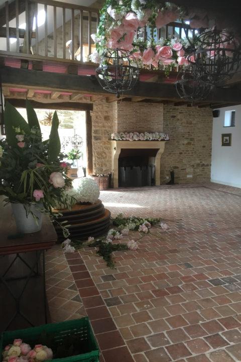 Location de la Salle de réception du château d'Allogny